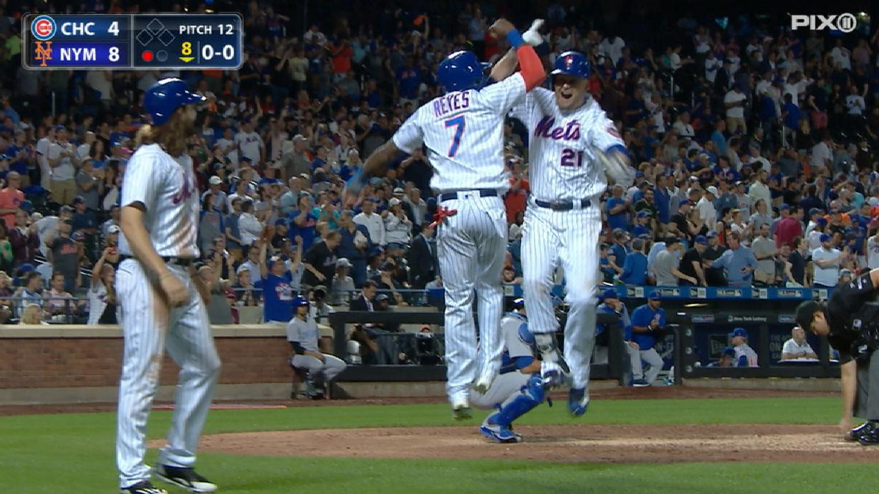 Mets' five-run 8th inning