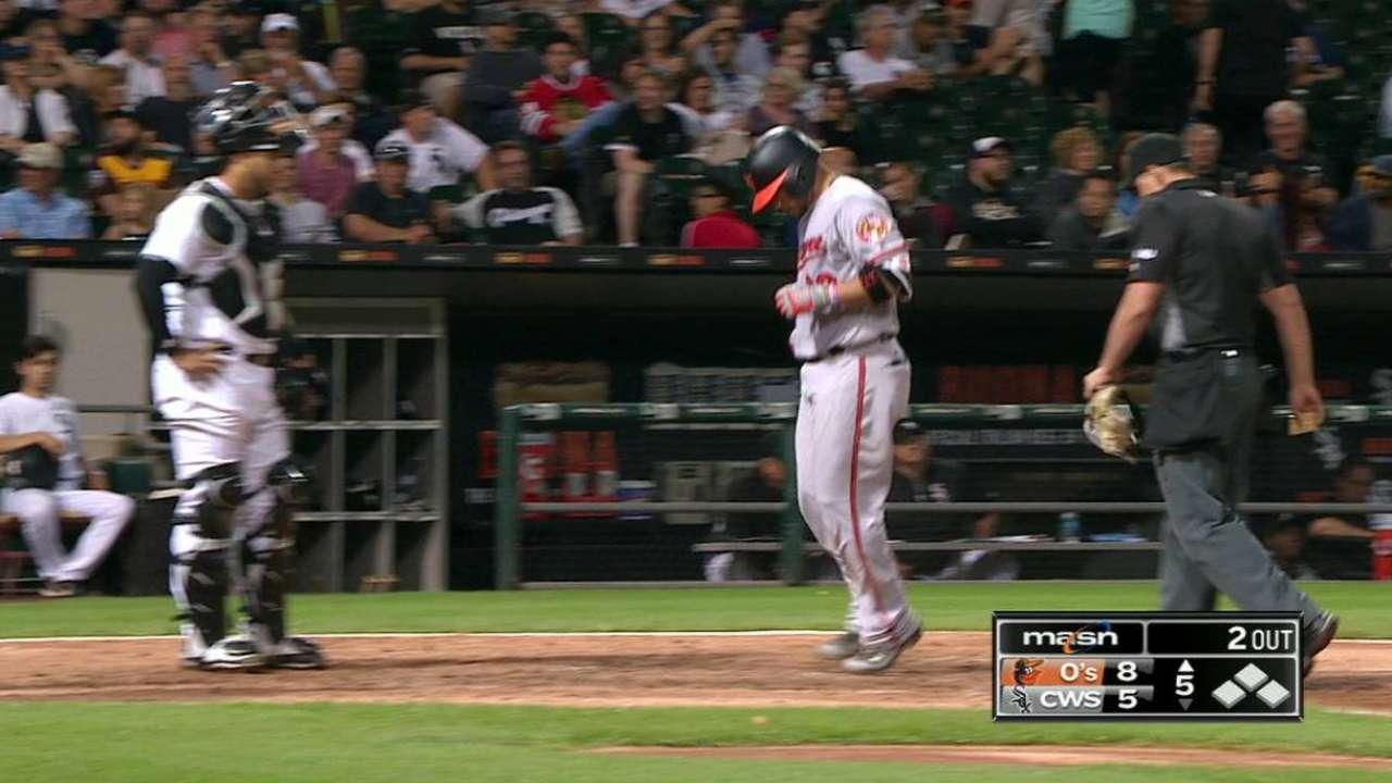 Wel-done: Castillo's slam sinks White Sox