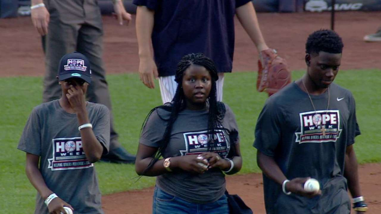 Courageous Cubs pick offers message of love