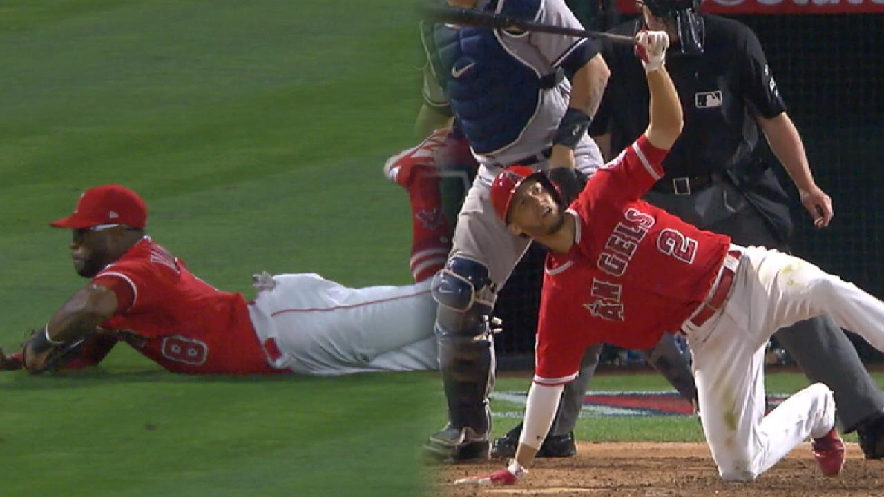Simmons' HR caps Halos' rally past Yankees