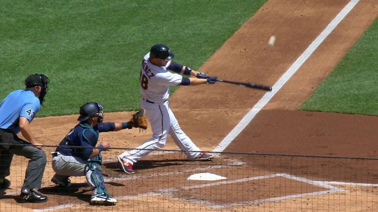 Gimenez's three-run homer