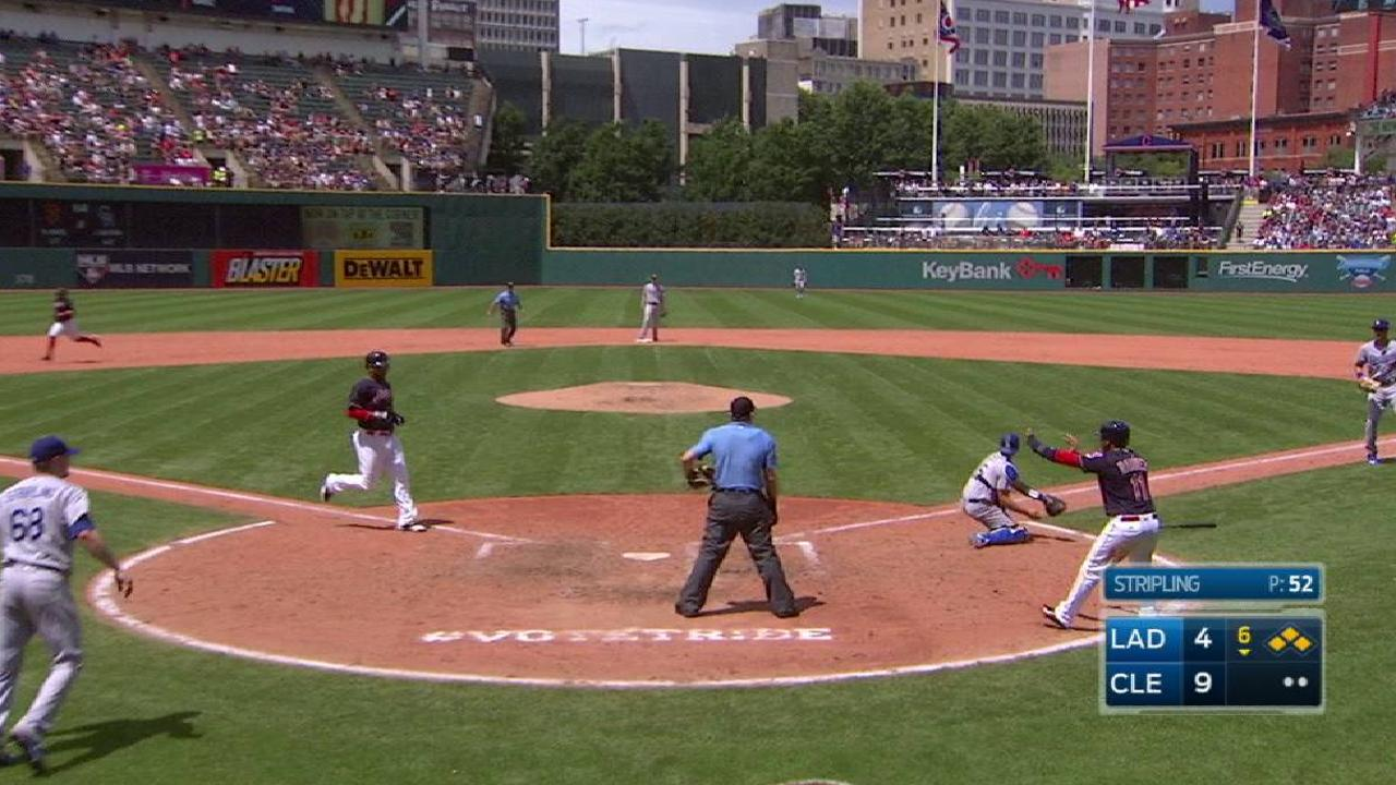 Chisenhall's two-run single
