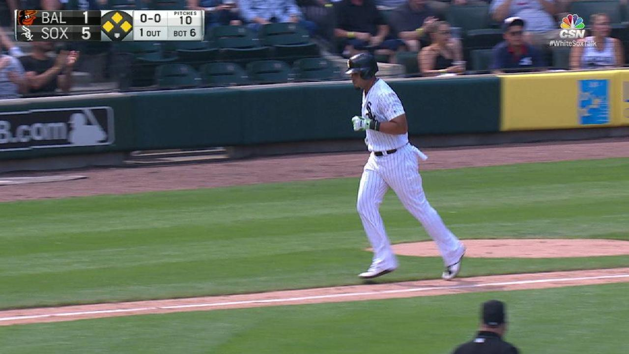 Abreu's RBI walk in the 6th