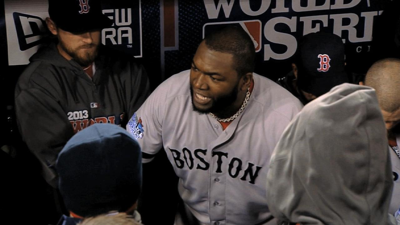 Papi 10 list, No. 8: Papi speech sparks Sox