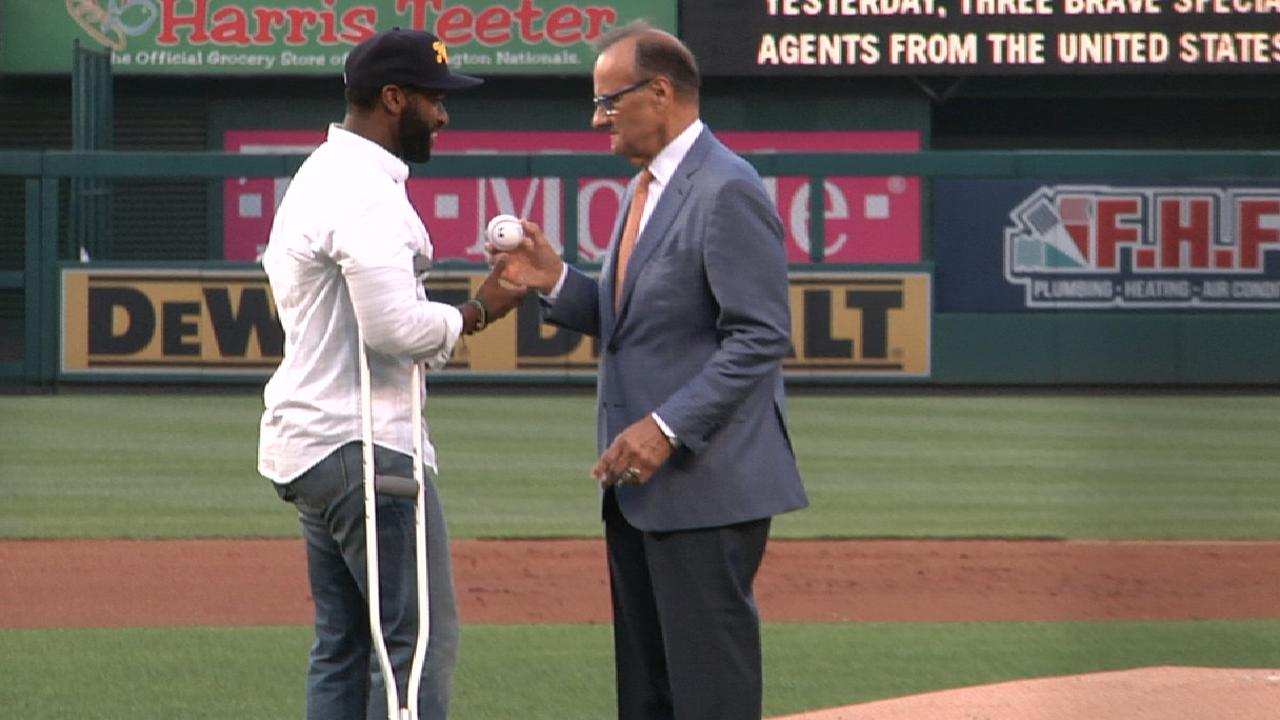 Parties undivided at Congressional Game