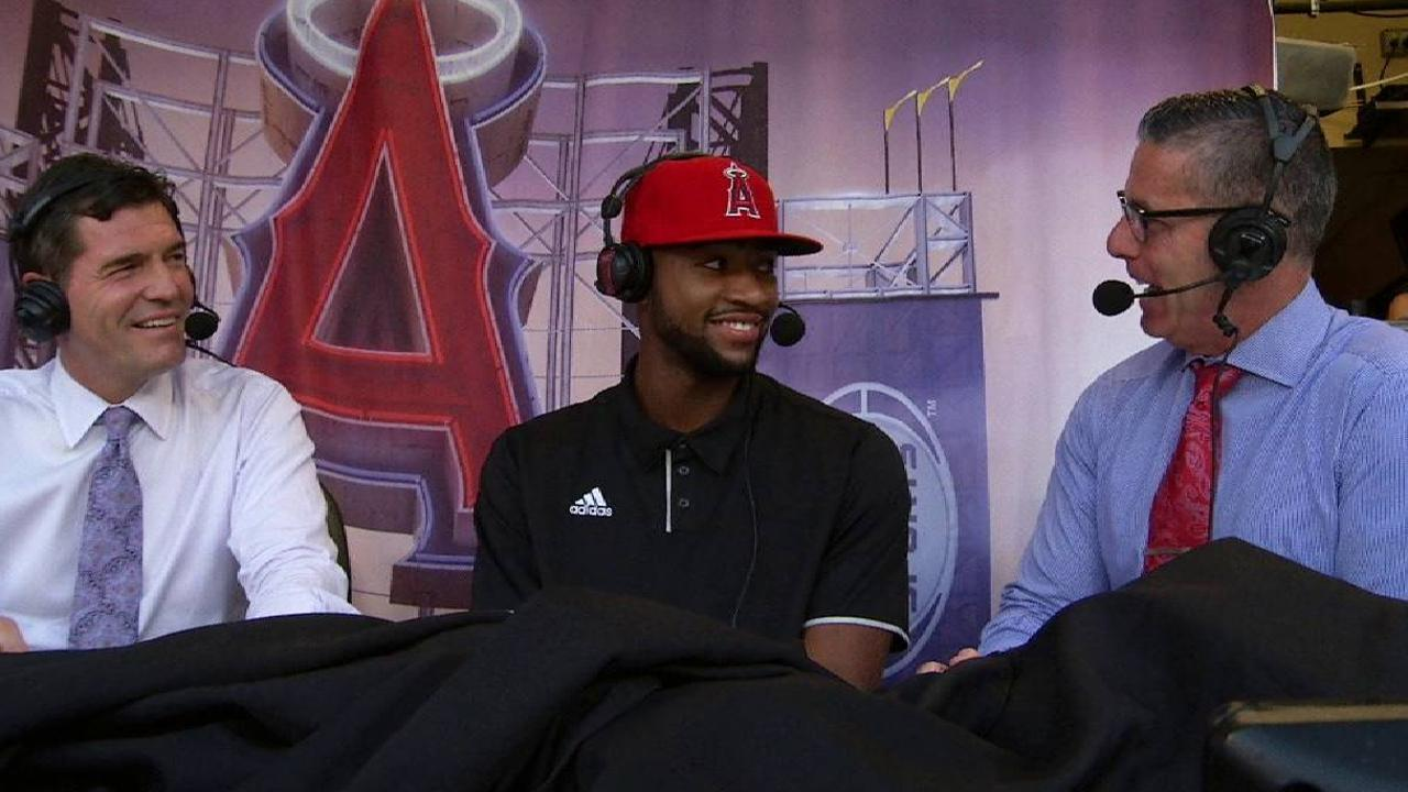 Adell wastes little time in signing with Halos