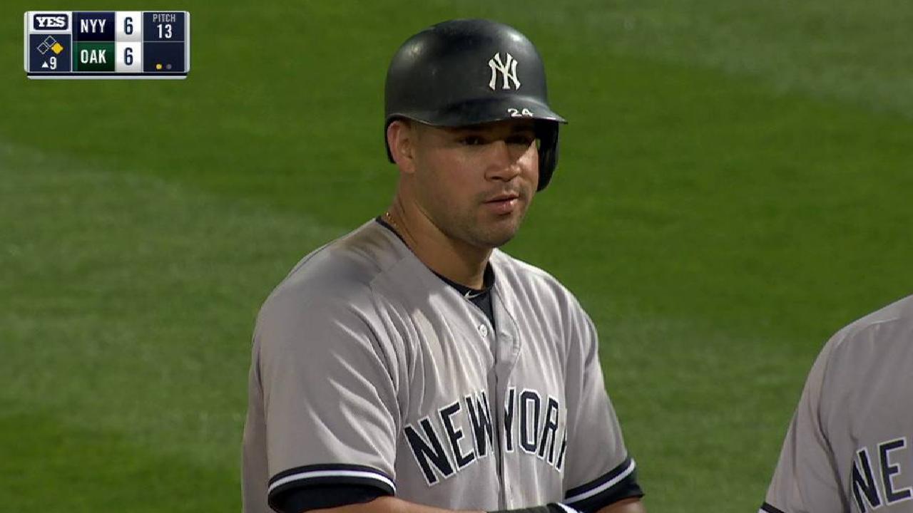 Sanchez's game-tying RBI single