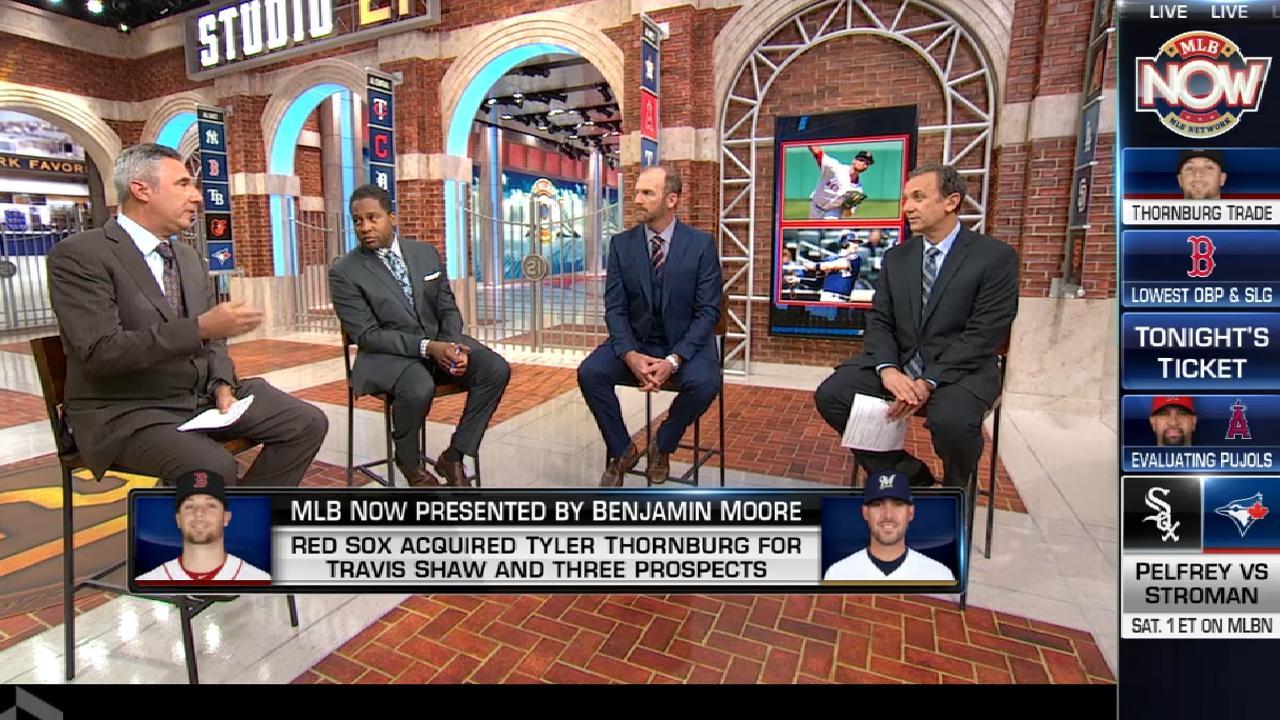 MLB Now recaps Thornburg trade