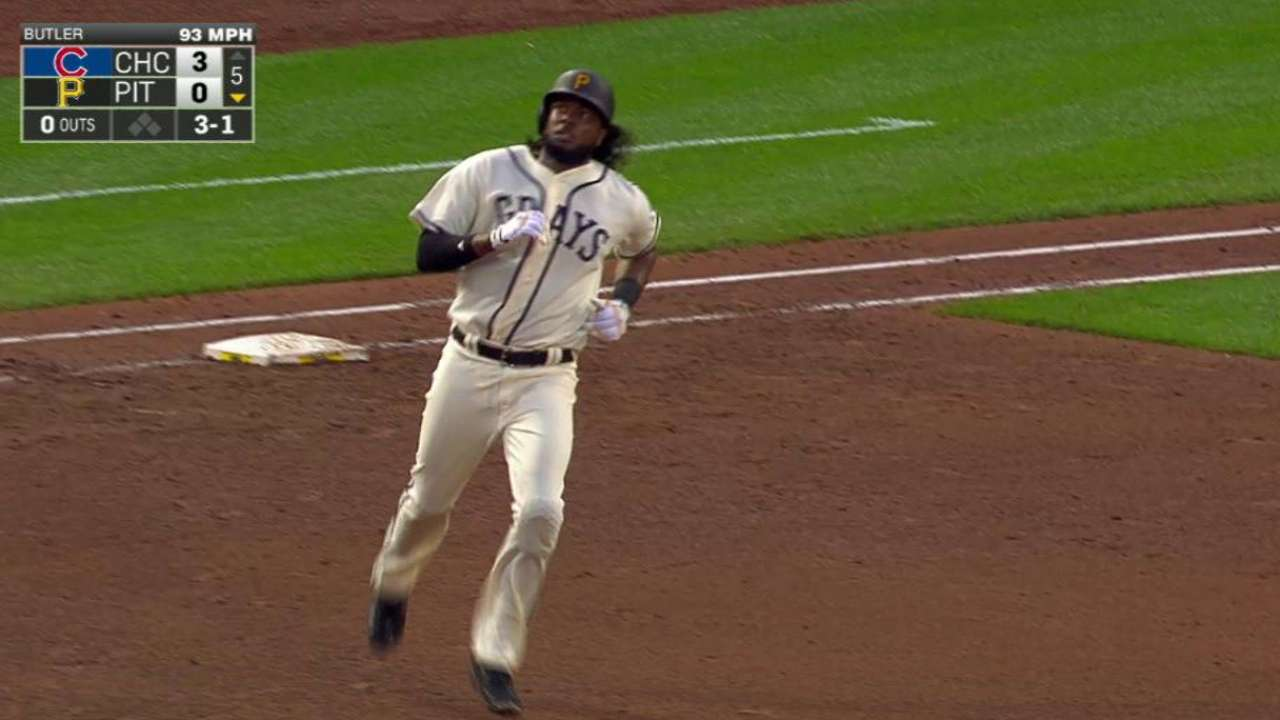 Bell's solo blast to center