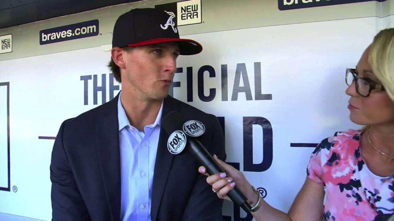 Kyle Wright on joining Braves
