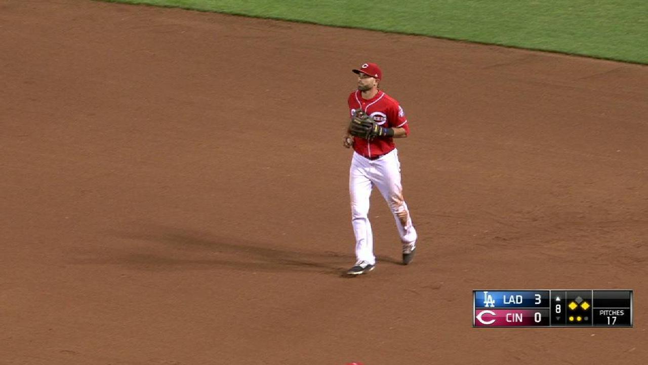 Dodgers extendieron su dominio sobre Rojos con joya de Wood
