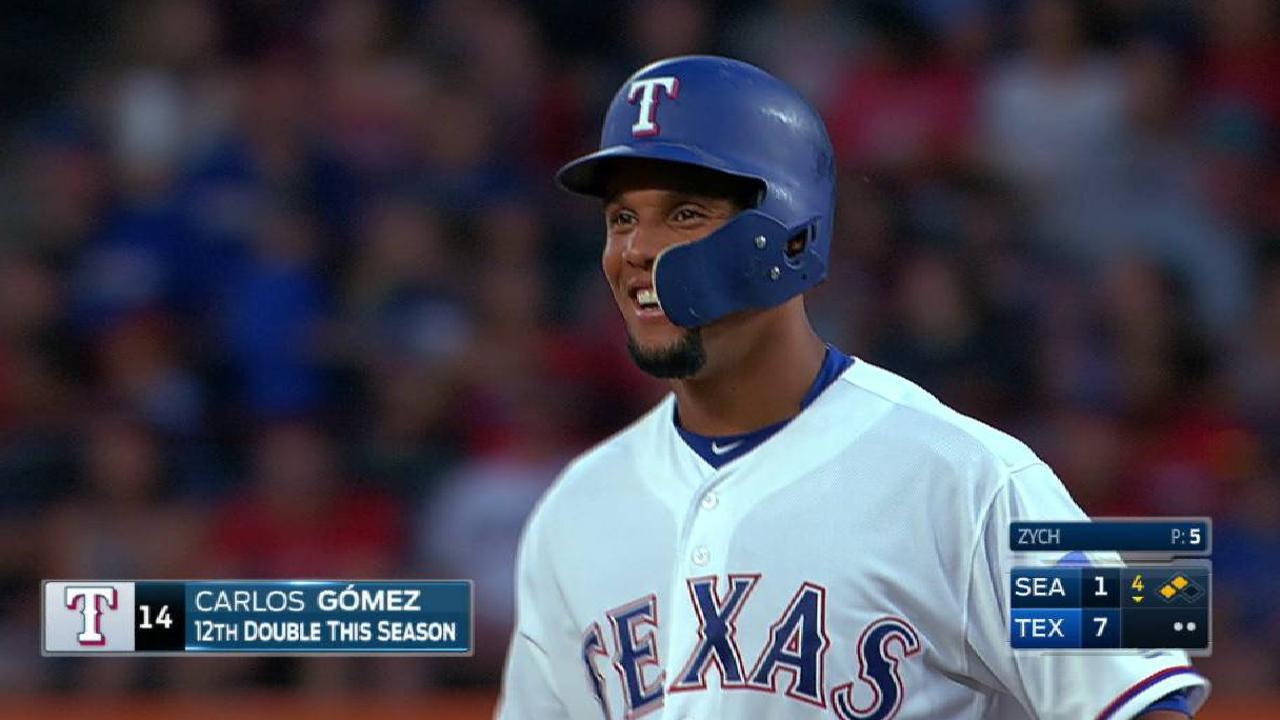 Gomez's RBI double