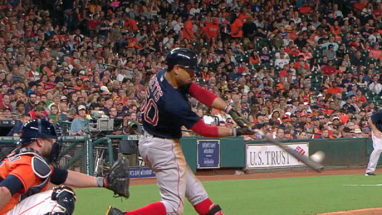 Leading man: Mookie lifts Sox past Astros
