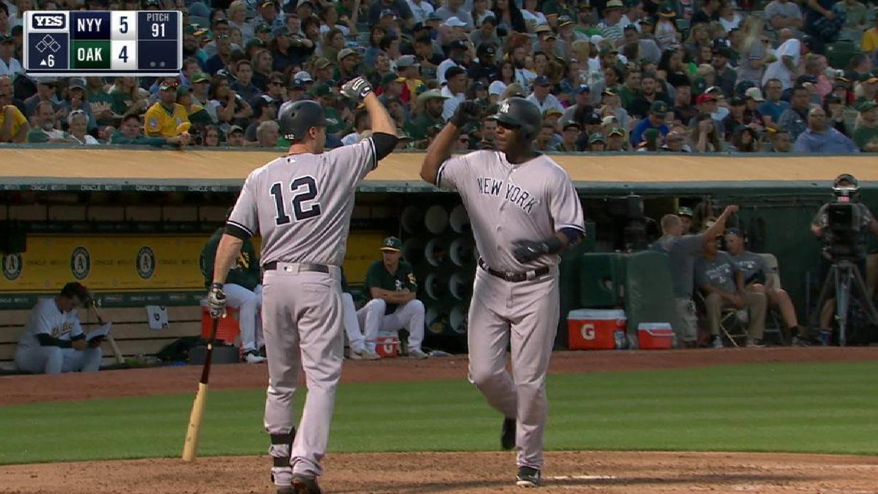 Carter stepping up as Yanks deal with injuries