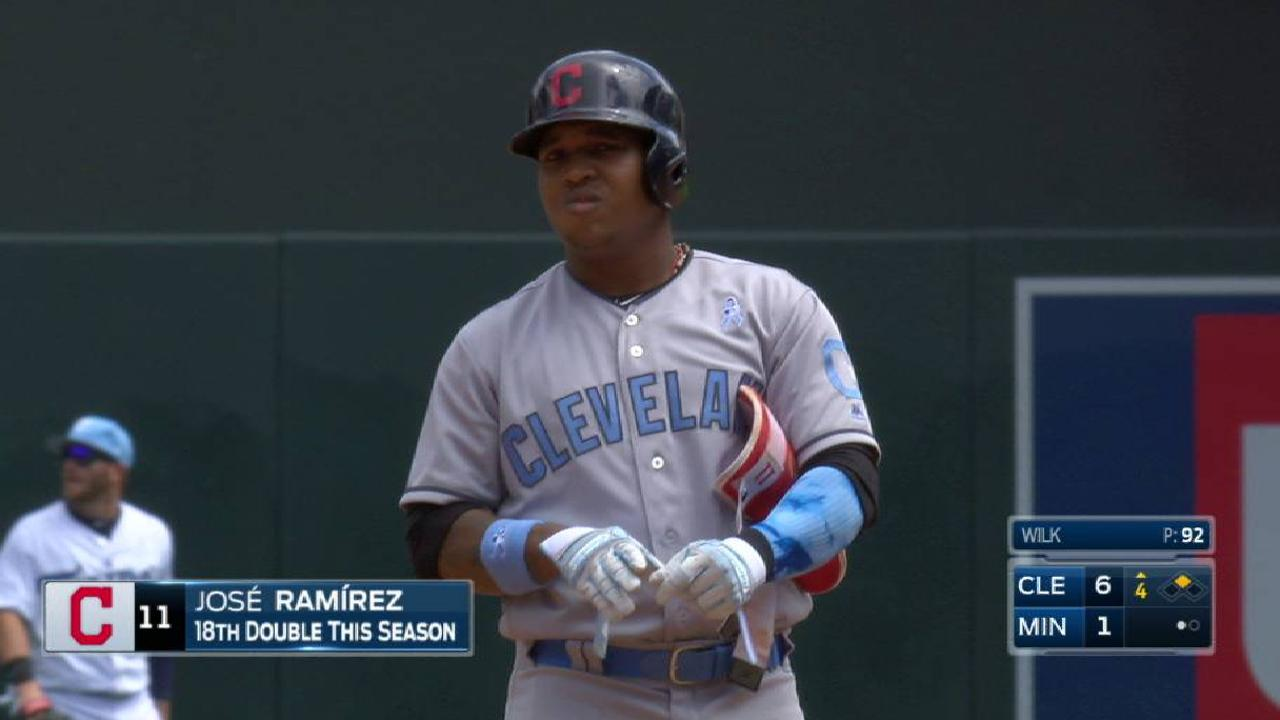 Ramirez's two-run double