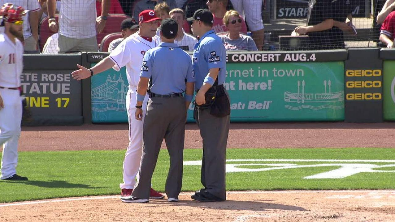 Price gets ejected