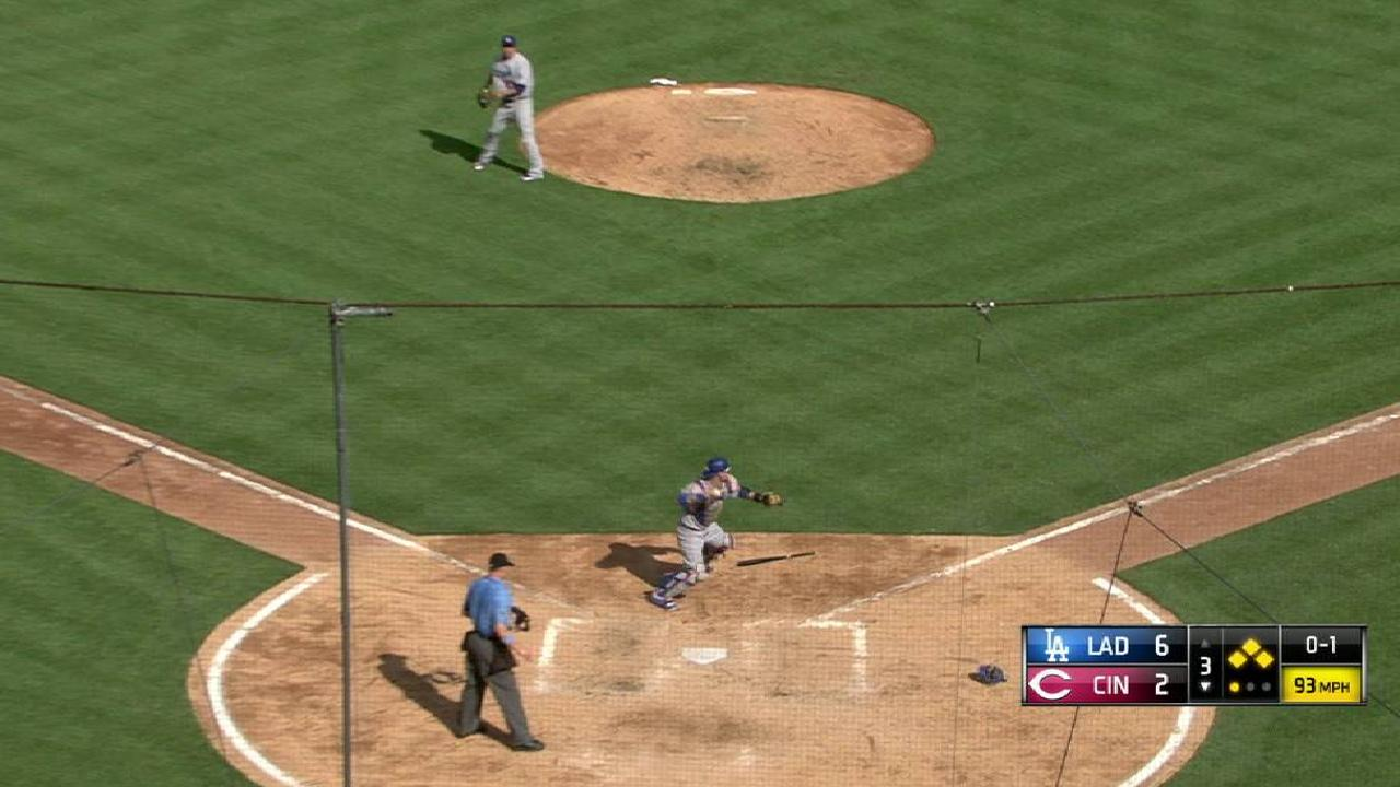 Ryu escapes a bases-loaded jam