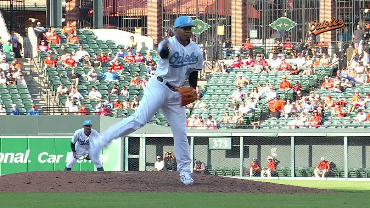 Givens' quick stop on the mound