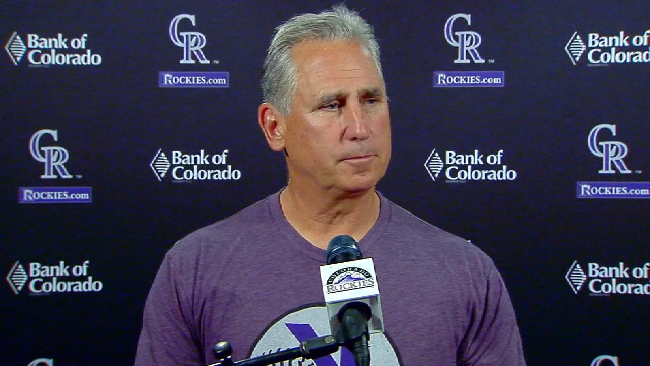 Black reflects on Rockies' win