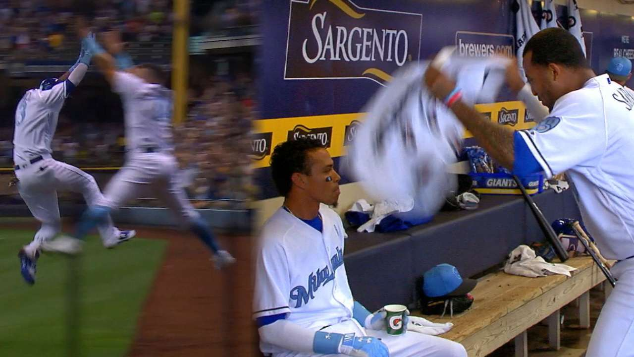 Must C: Arcia legs out homer