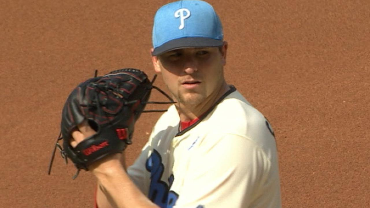 Eickhoff effective, but Phils quieted in loss