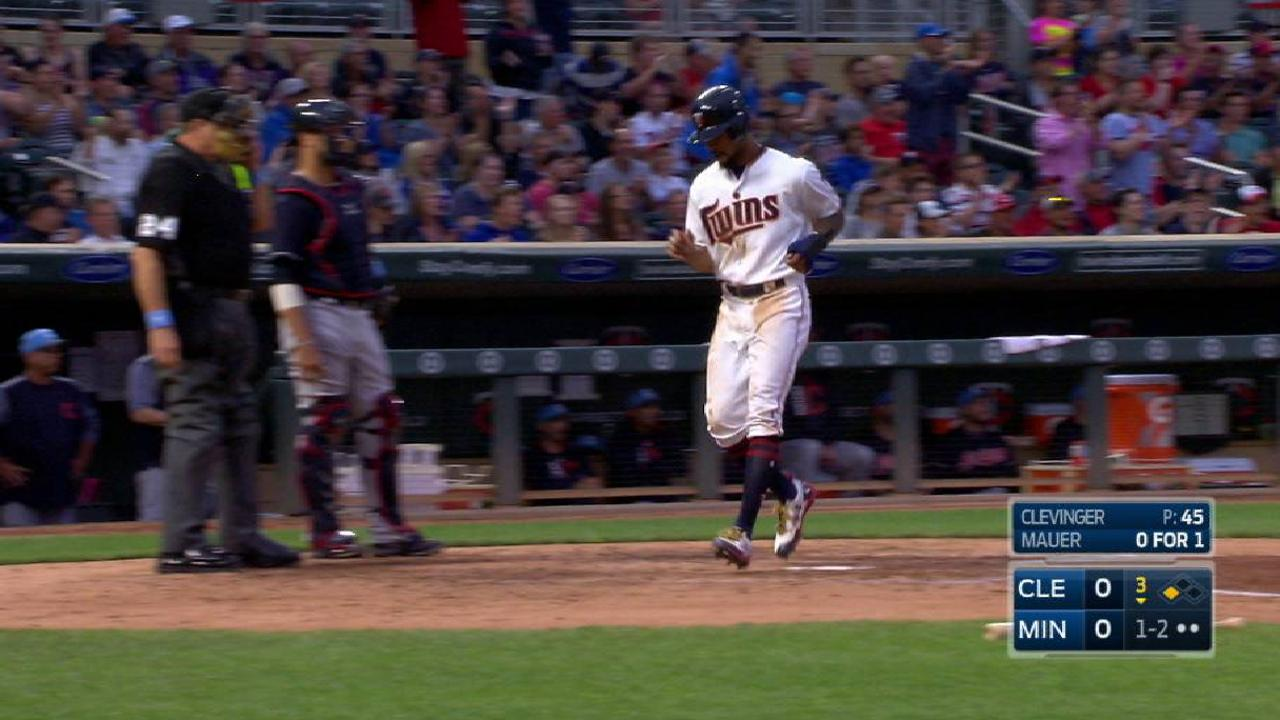 Twins can't keep Tribe from storming ahead