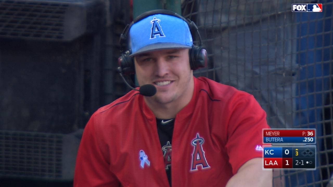 Trout on injury, teammates