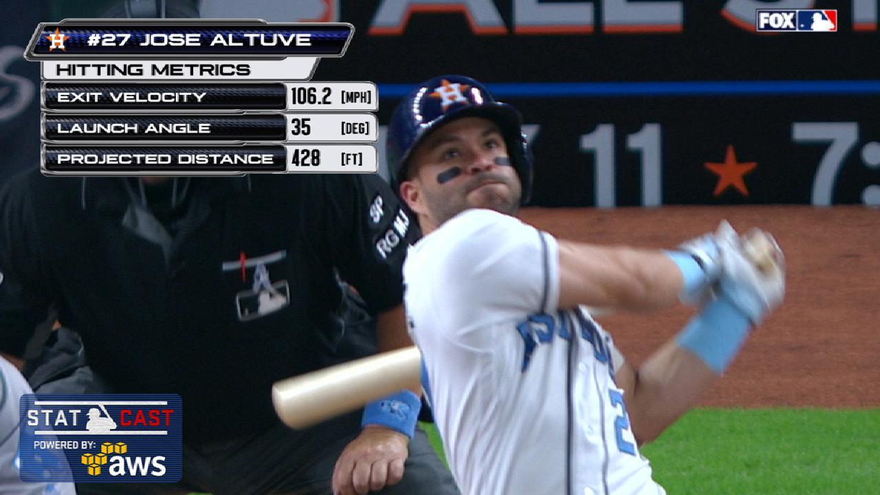 Statcast: Altuve's 428-ft. homer