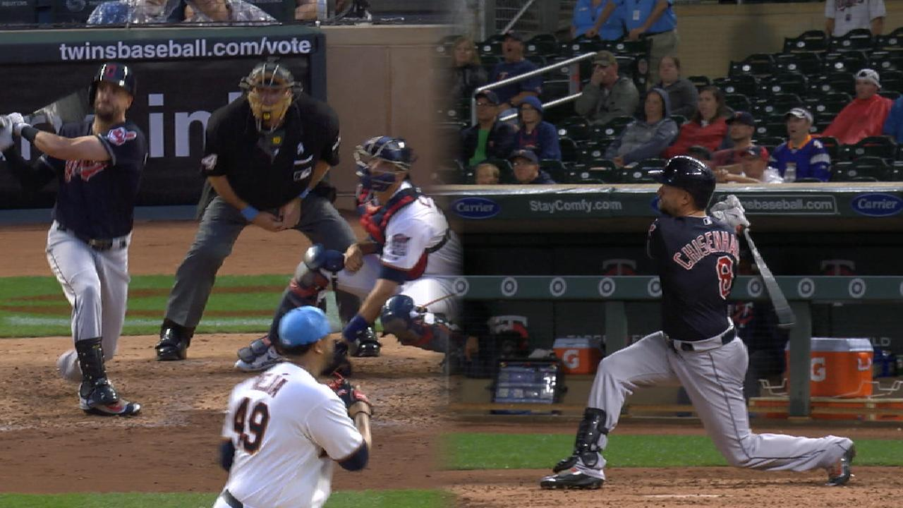Chisenhall hits two home runs