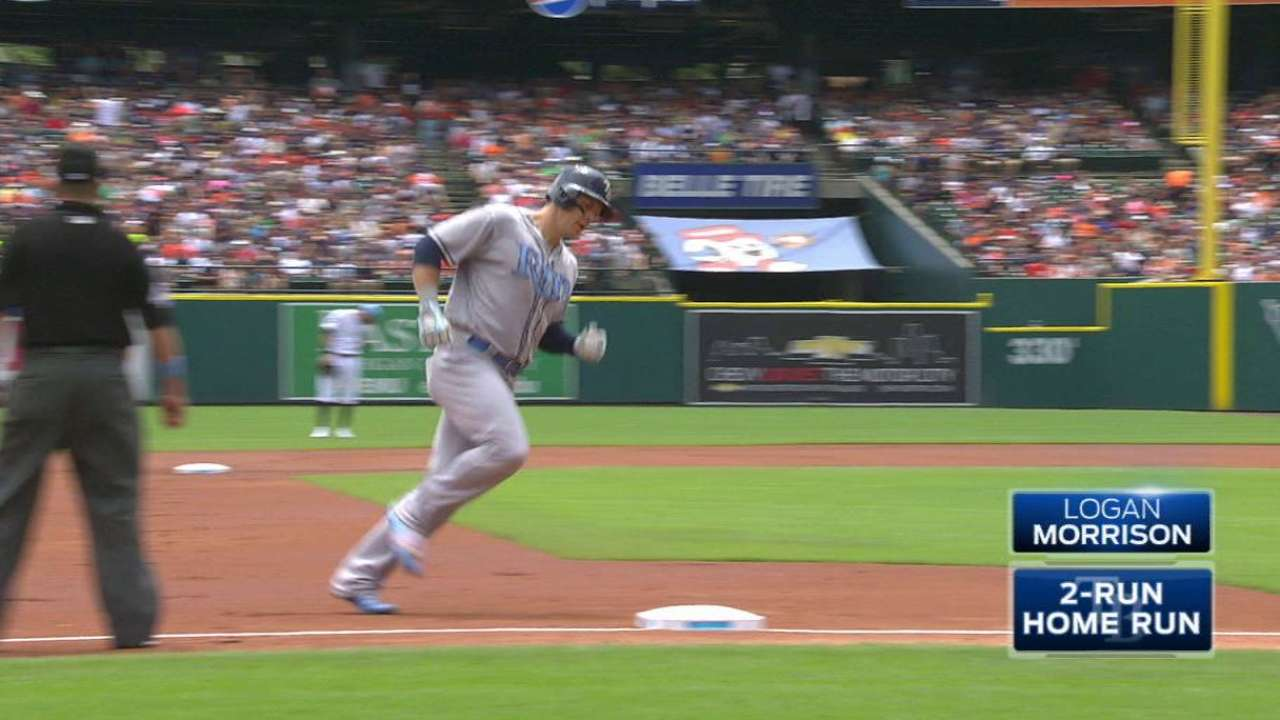 Morrison's two-run smash