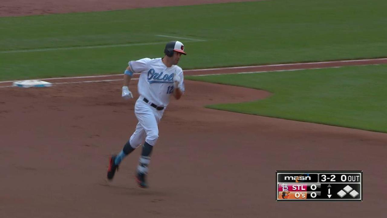 Smith's leadoff home run