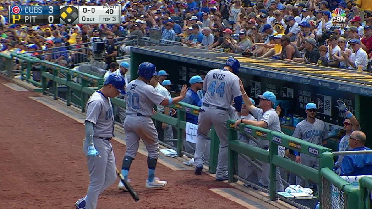 Contreras' two-run double