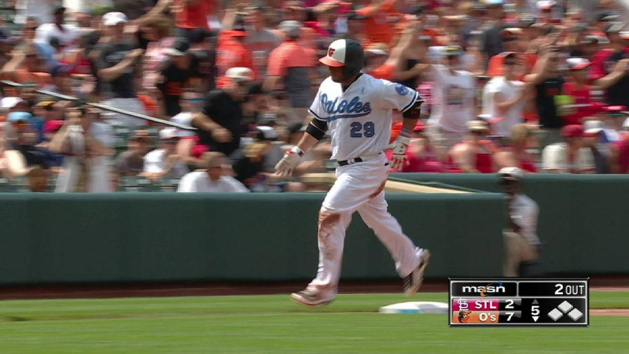 Castillo's solo home run