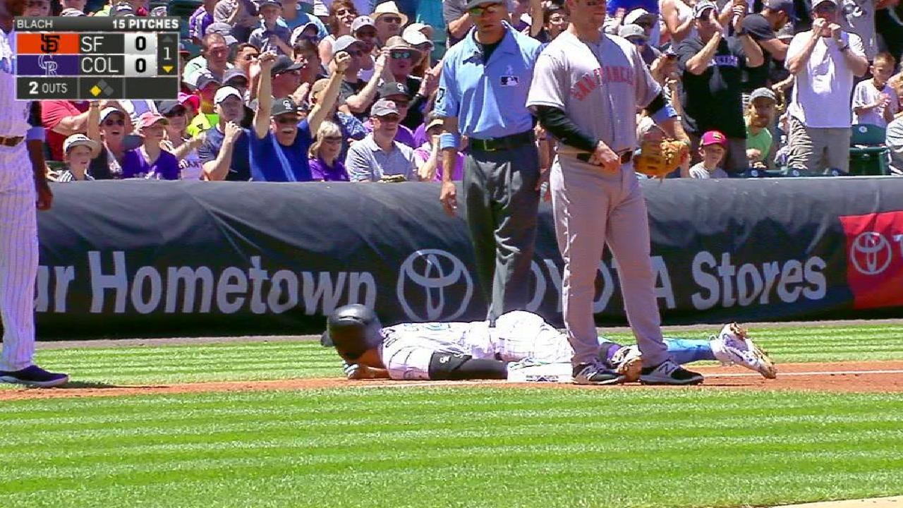 Arenado completes cycle with walk-off homer