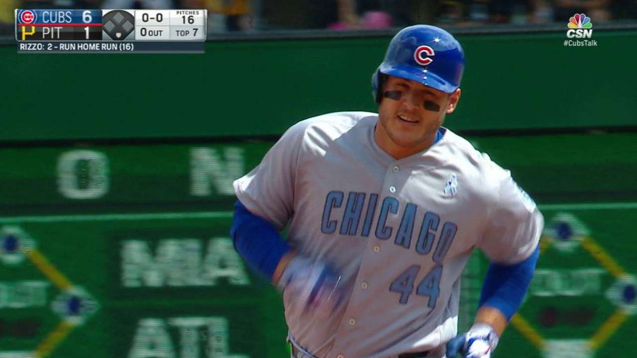 Rizzo's 150th career homer