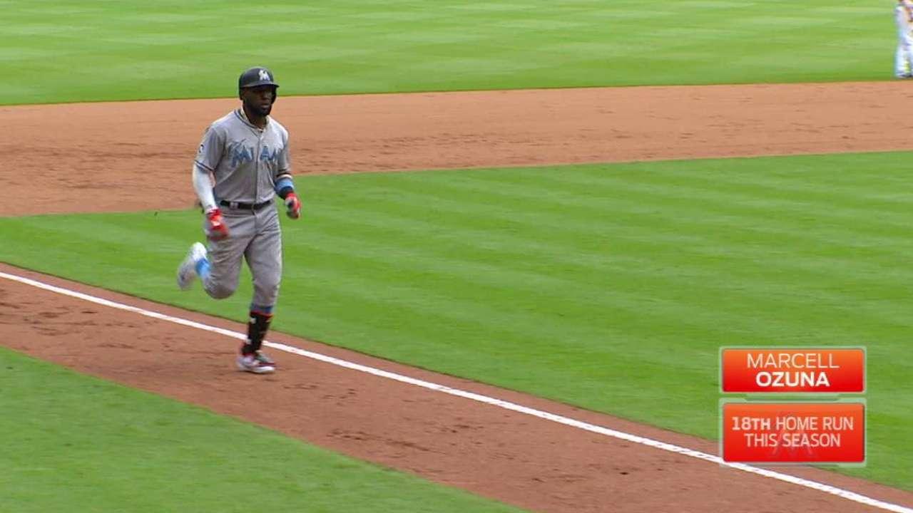 Ozuna making push on NL All-Star ballot
