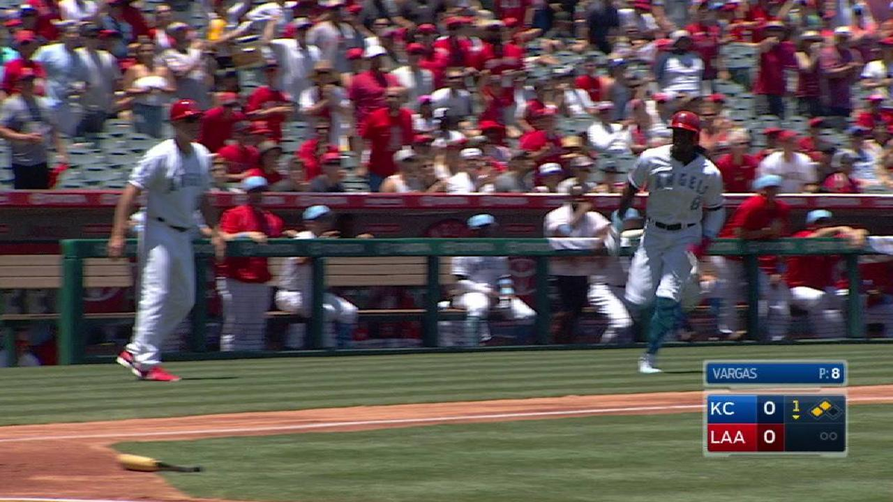 Calhoun's RBI double