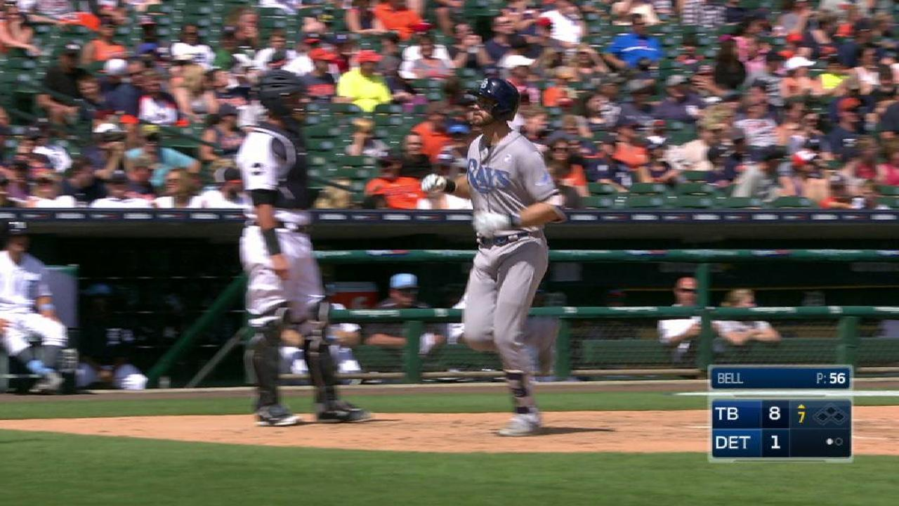 Longoria's long solo home run