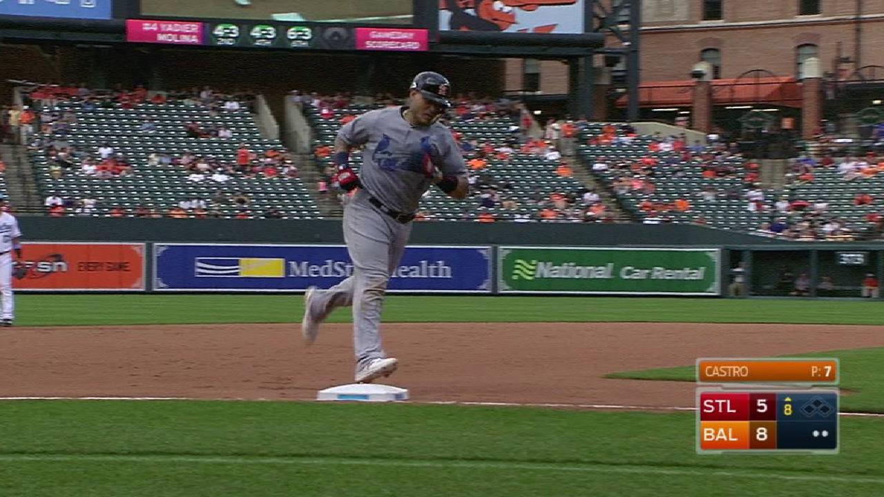 Molina's solo home run