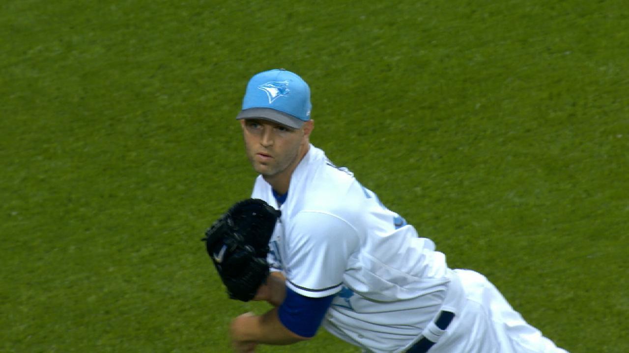 Happ's nine strikeouts