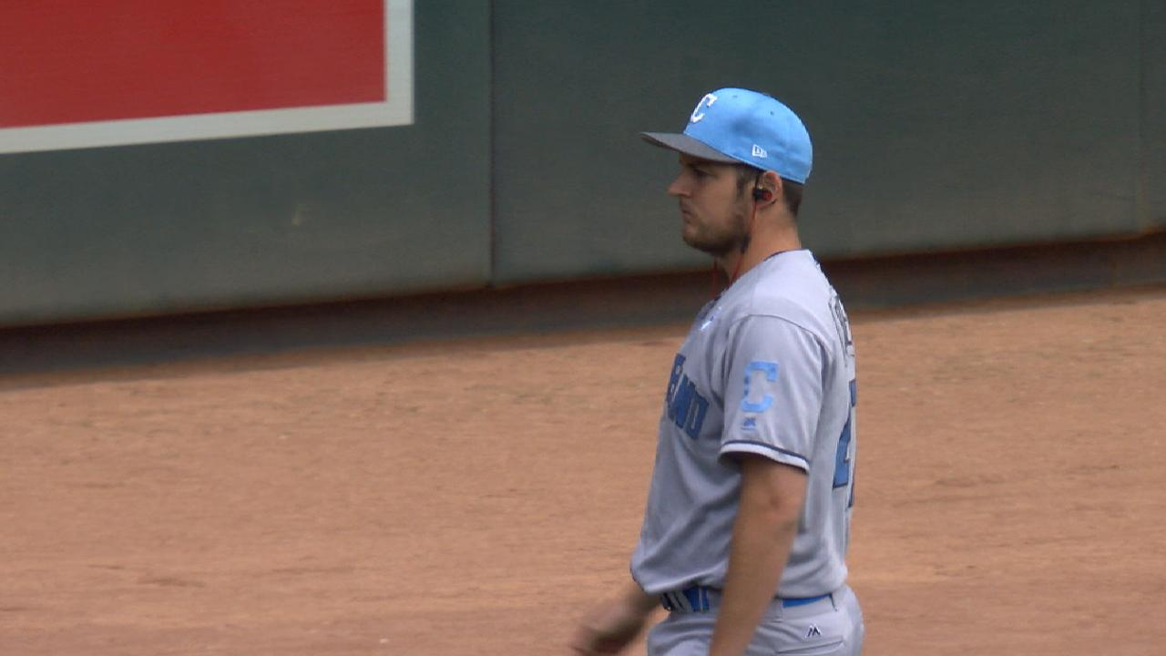 Bauer's seven strong innings