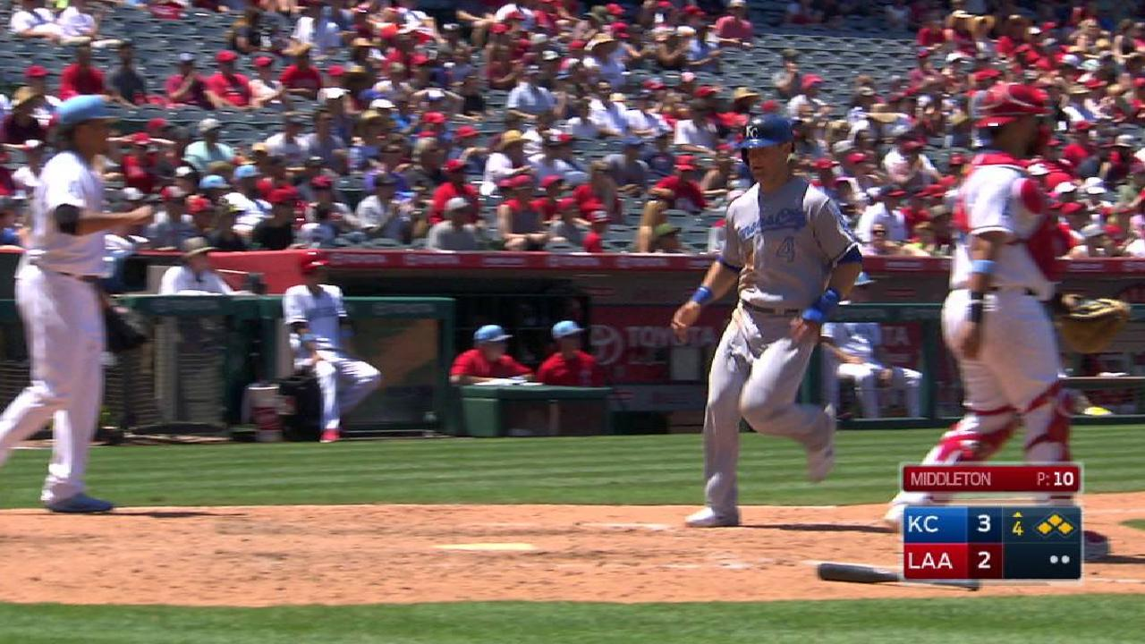 Hosmer's 500th RBI