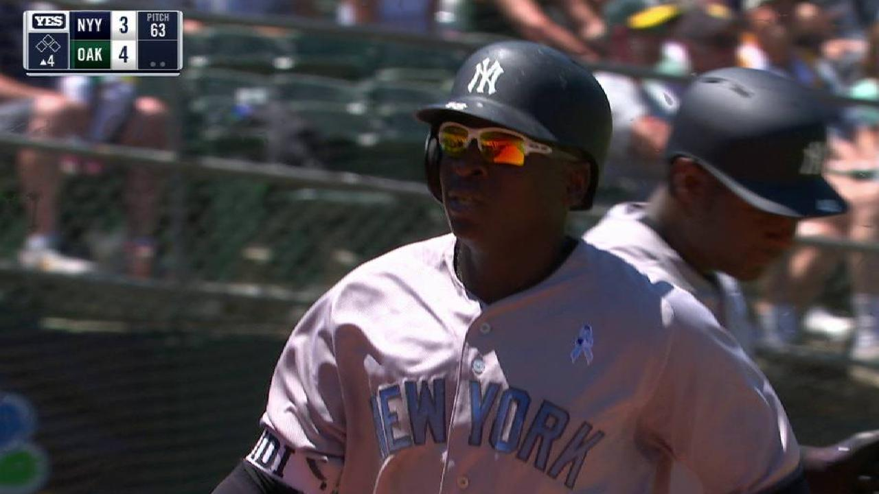 Gregorius' homer gets confirmed