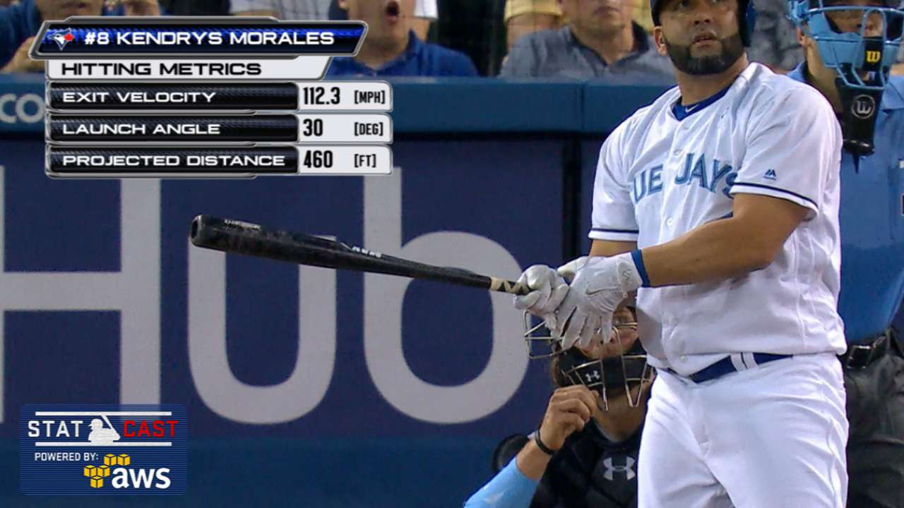 Statcast: Morales' 460-ft. homer