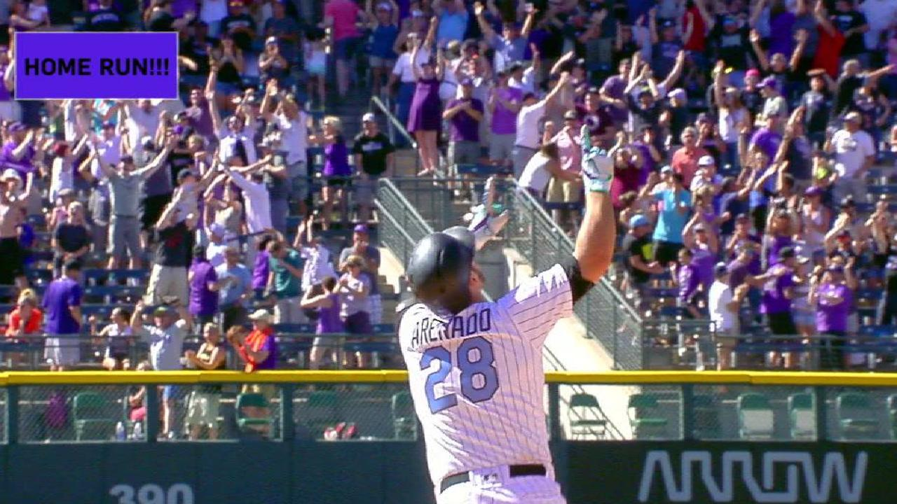 Arenado walks off for the cycle