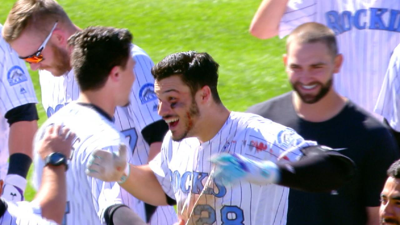 Extended cut: Arenado's walk-off