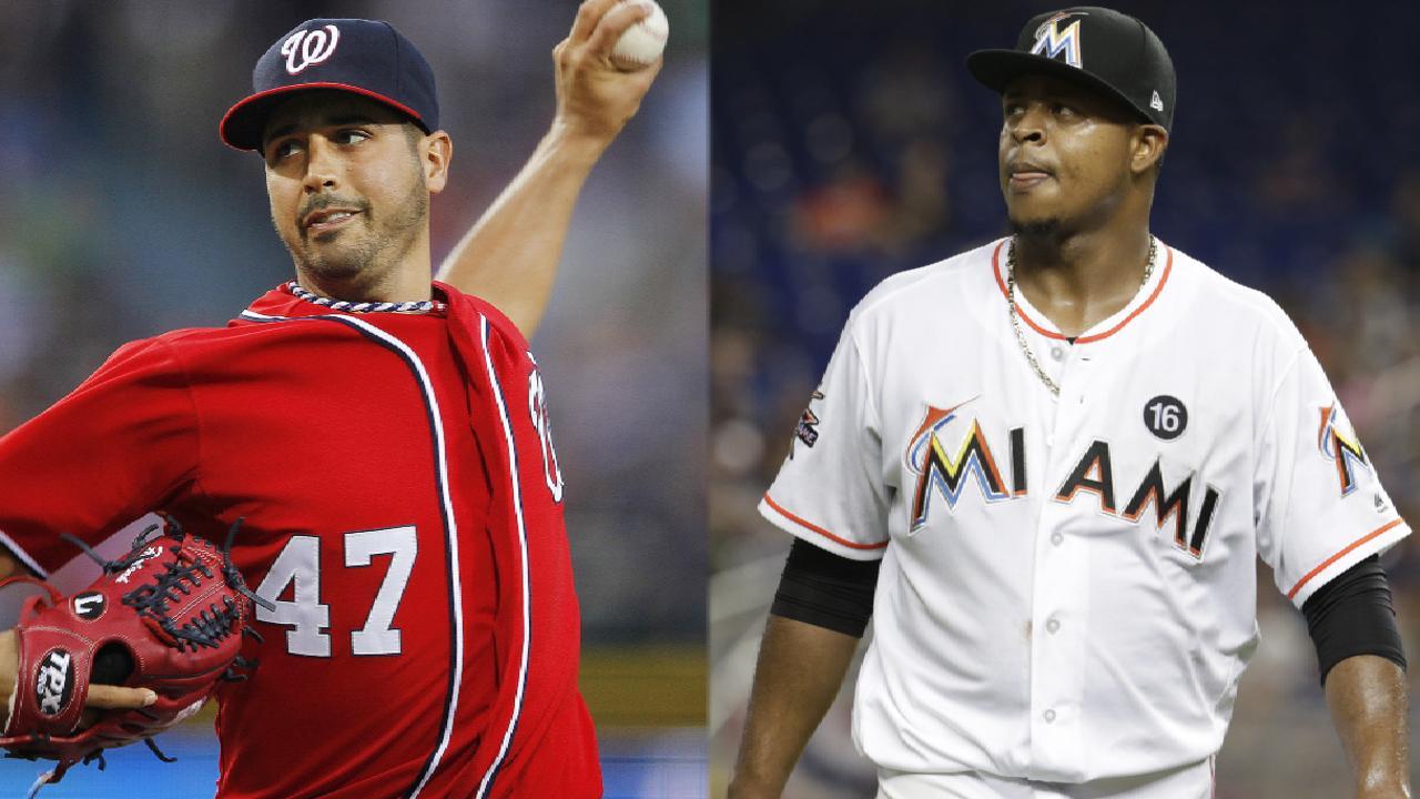 Gonzalez vs. Volquez