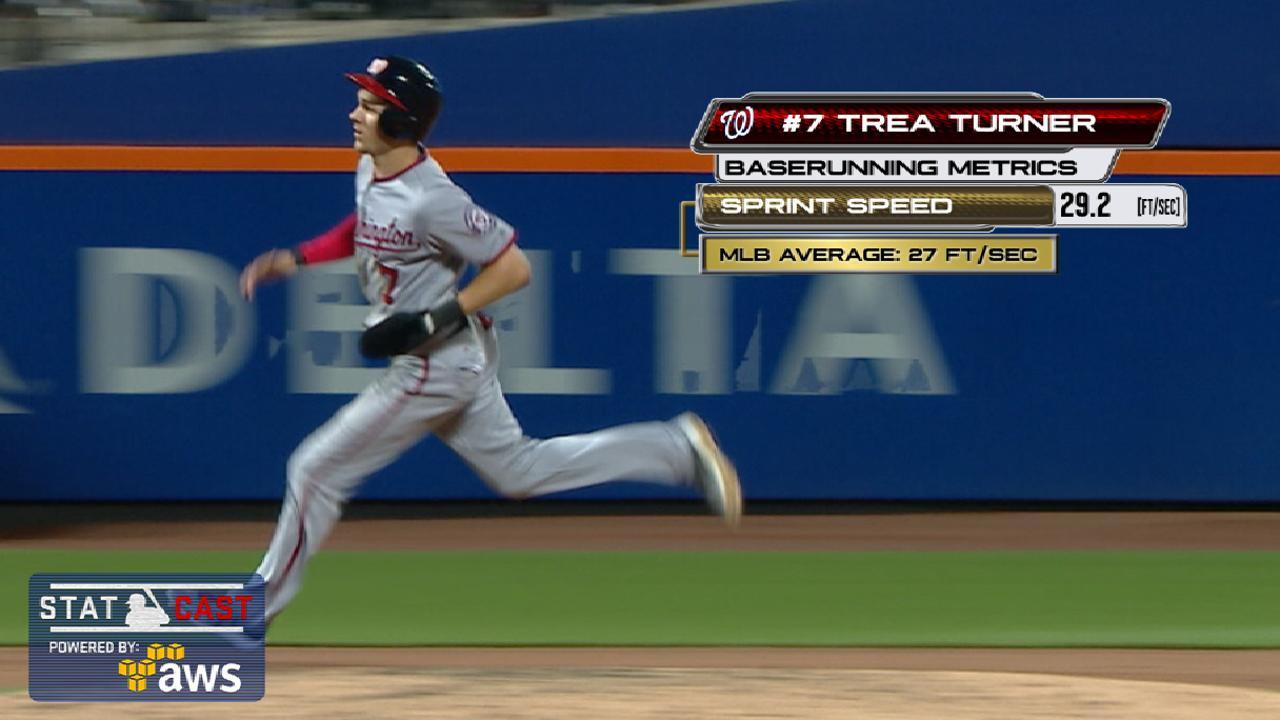 Statcast: Turner sprints home