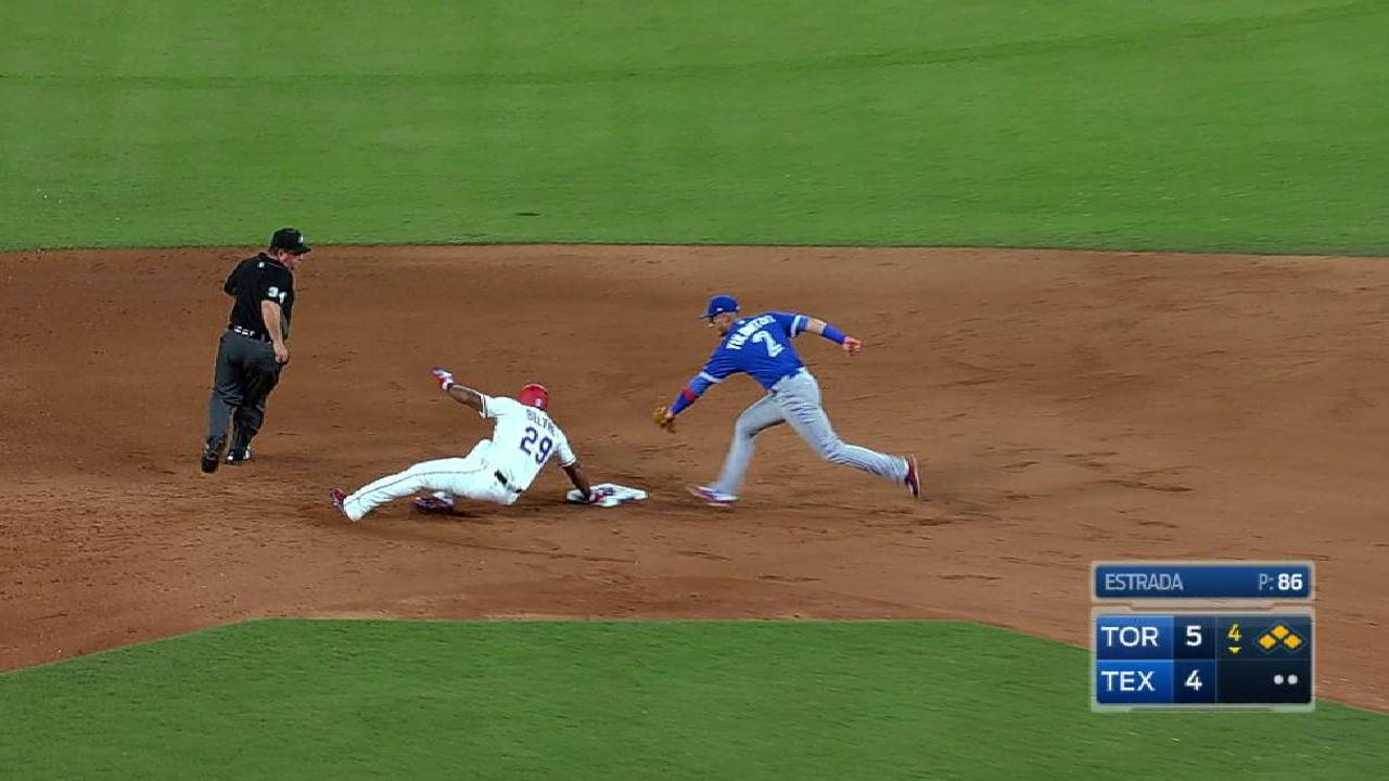 Beltre's bases-clearing double