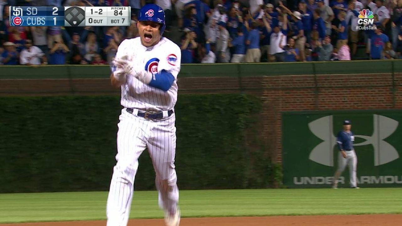 Contreras y Báez lideran triunfo de Cubs sobre Padres